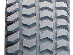 E-Rollstuhl-Bereifung, Block-Profil