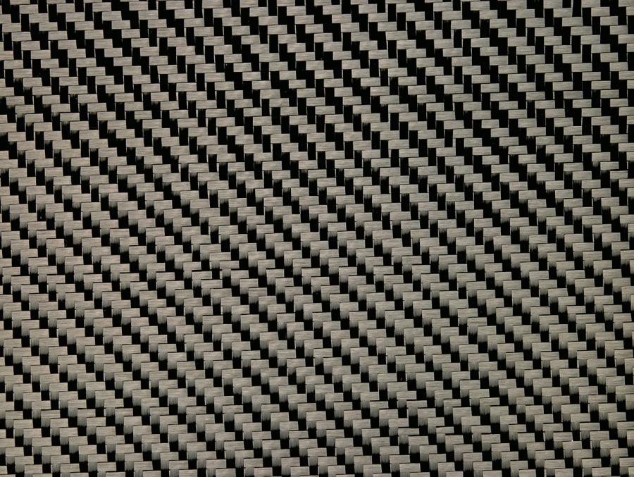 Carbongewebe Köper 200 G/m² Mit Overspray
