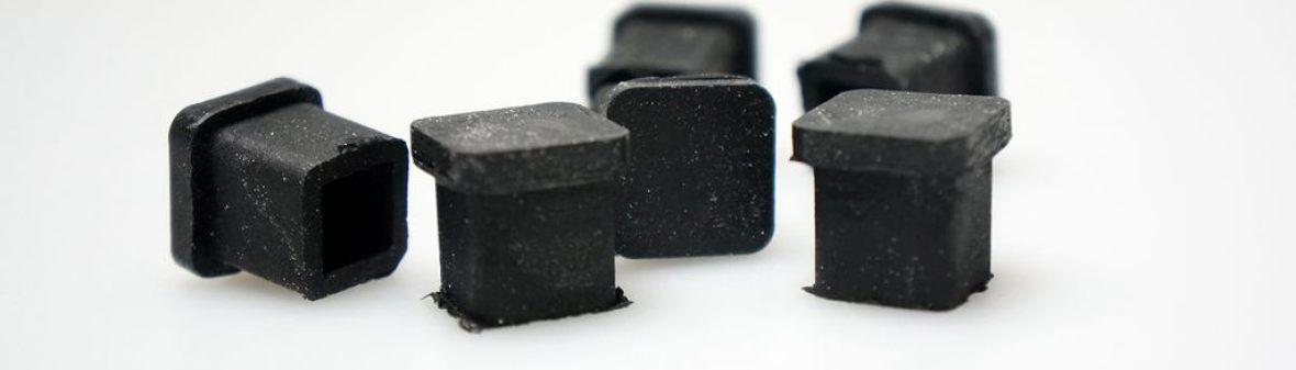 Gummistopfen, Schwarz