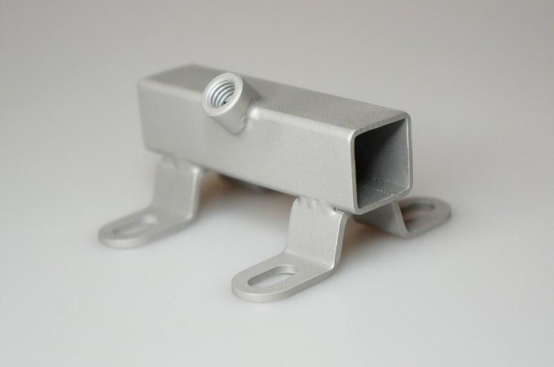 Universalhalter Mit Klemm-Hebelschraube, Gekröpft